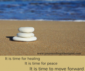 It is time to leave your stuck place and move forward with your life.